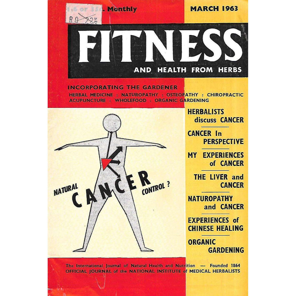 Bookdealers:Fitness and Health from Herbs (March, 1963)