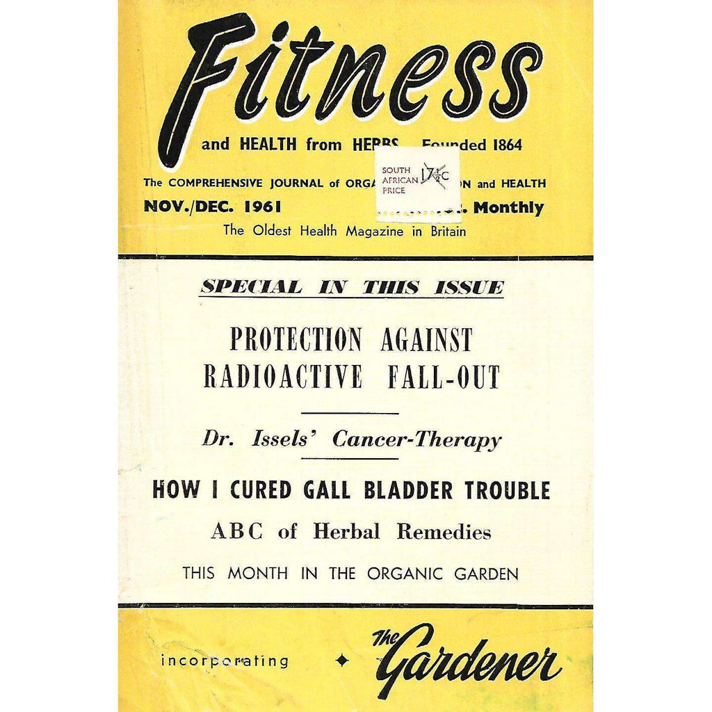 Bookdealers:Fitness and Health from Herbs (Nov/Dec. 1961)