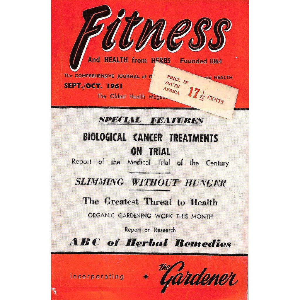 Bookdealers:Fitness and Health from Herbs (Sept/Oct. 1961)