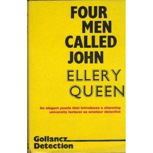 Bookdealers:Four Men Called John | Ellery Queen
