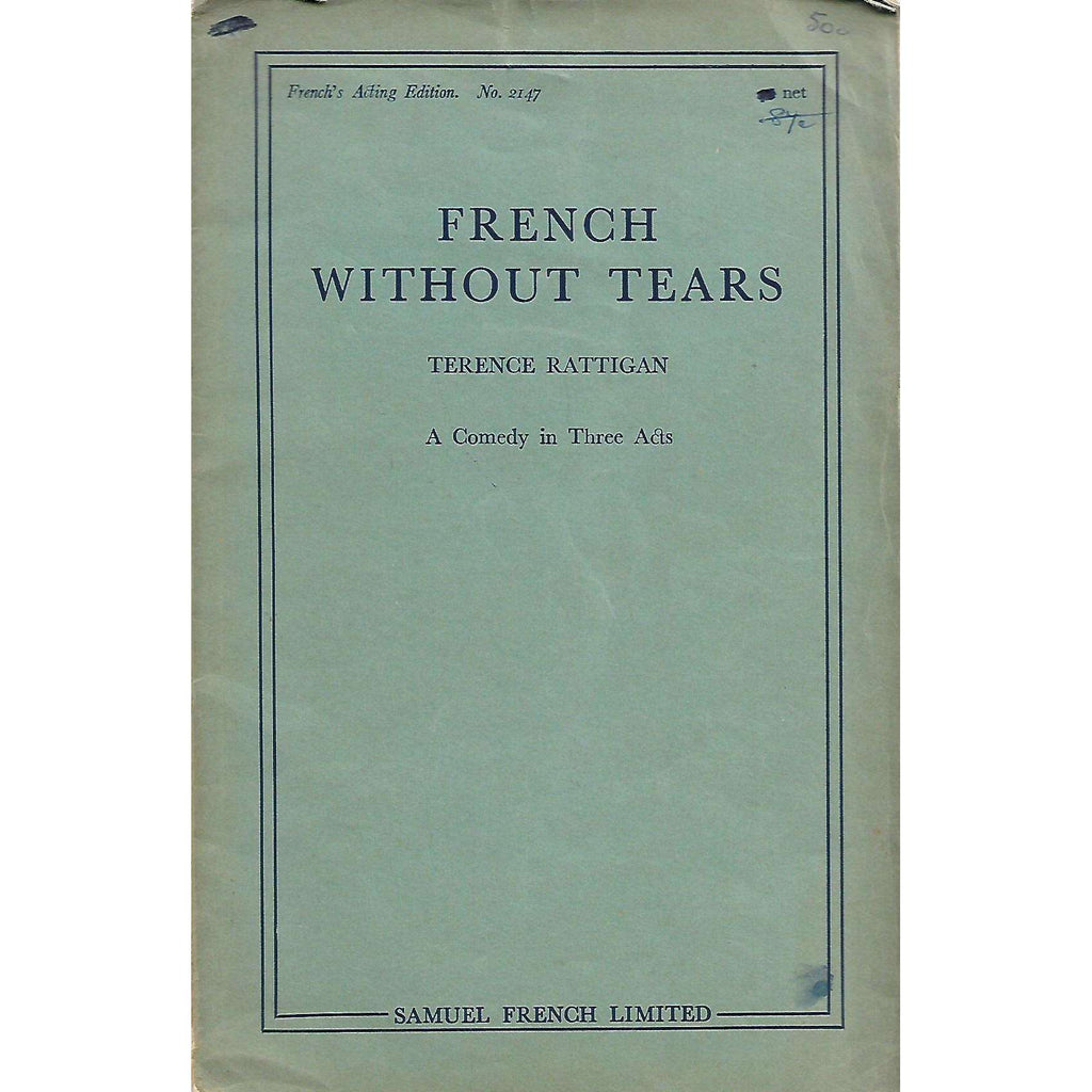 Bookdealers:French Without Tears: A Comedy in Three Acts | Terence Rattigan