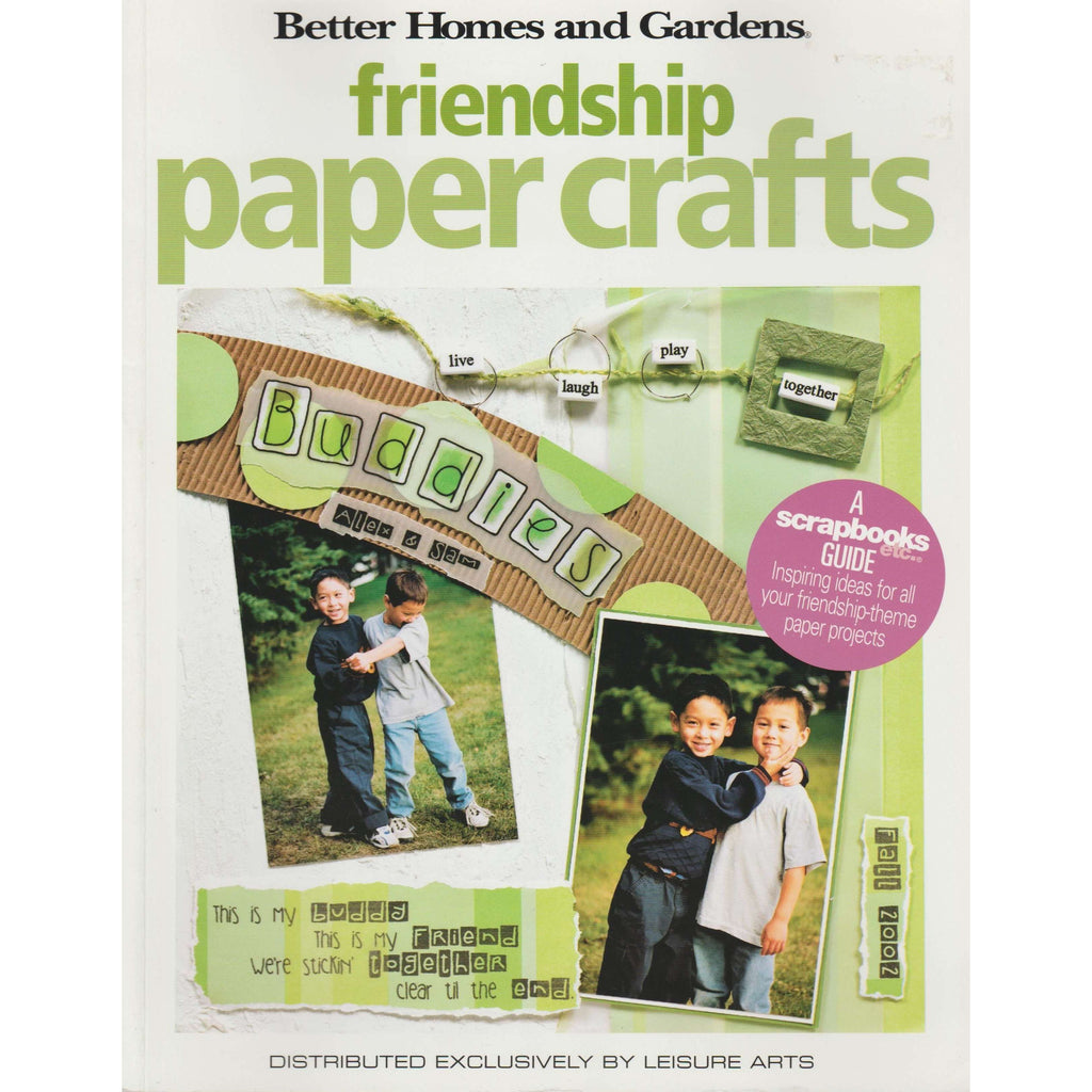 Bookdealers:Friendship Paper Crafts | Leisure Arts