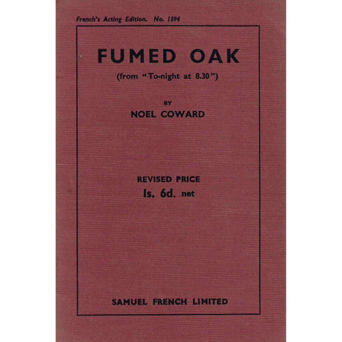 "Fumed Oak (from ""To-night at 8:30"") 