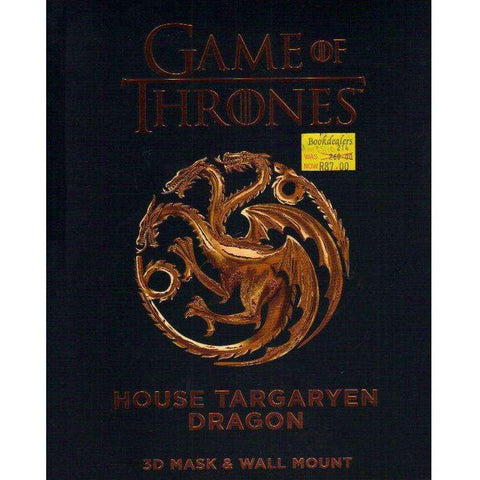 Game of Thrones: House Targaryen Dragon (3D Mask & Wall Mount)