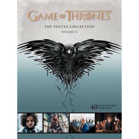 Game of Thrones: The Poster Collection Volume 2 (40 Removable Posters)