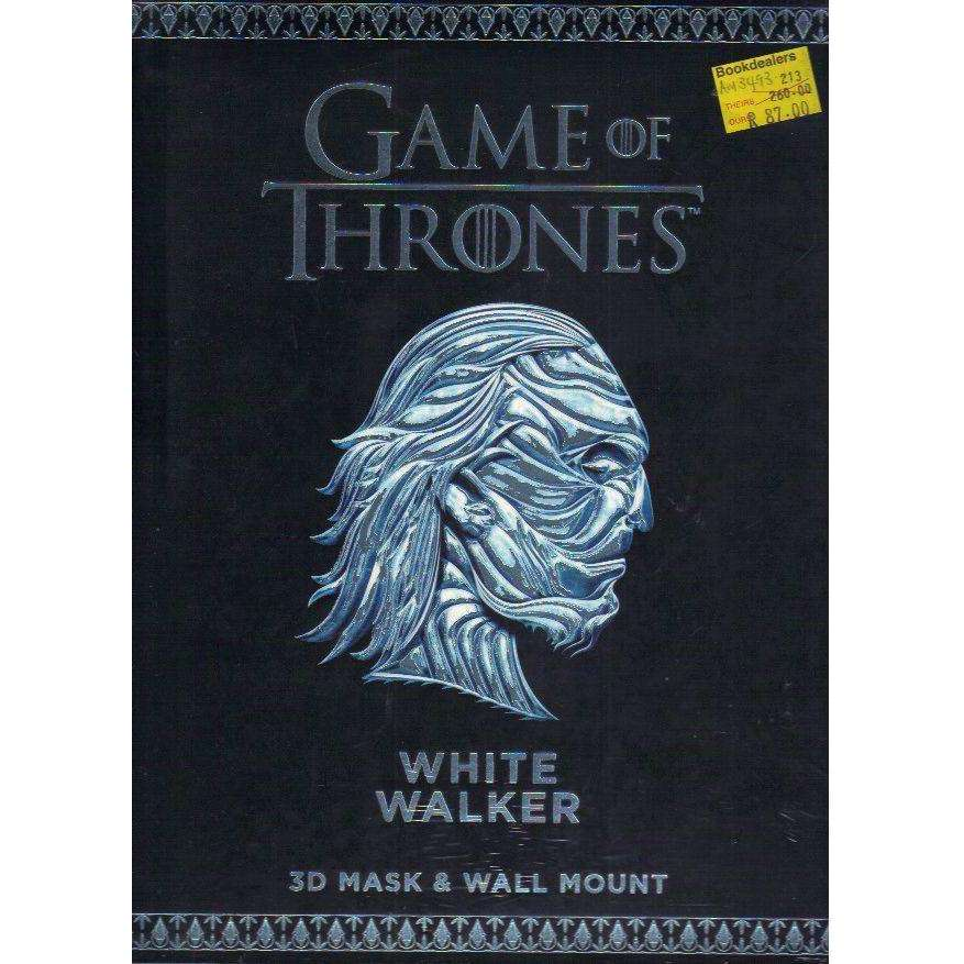 Bookdealers:Game of Thrones. White Walker: 3D Mask & Wall Mount