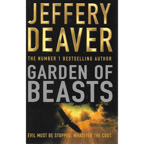 Garden of Beasts (Signed by Author, Includes Signed Letter by Author) | Jeffrey Deaver