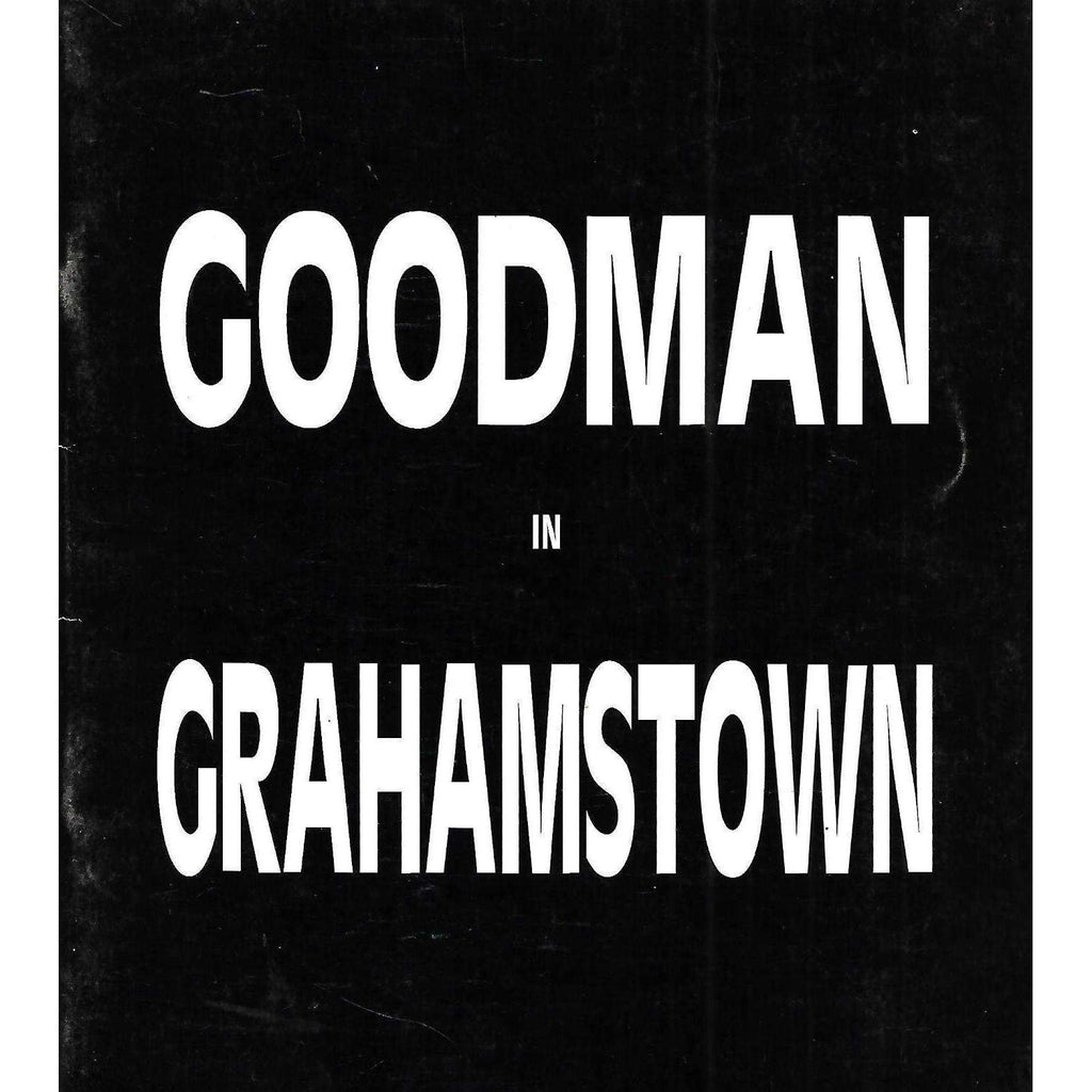 Bookdealers:Goodman in Grahamstown (Catalogue)