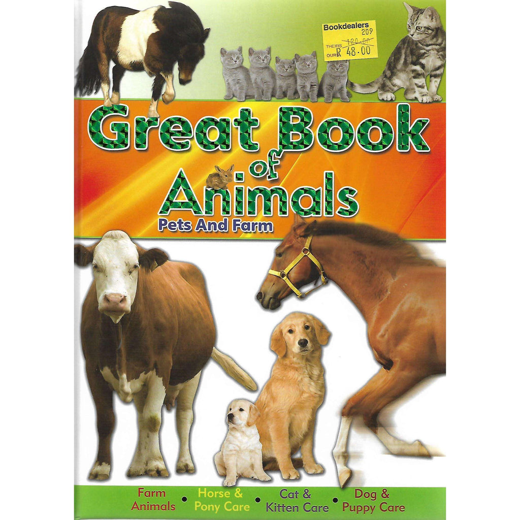 Bookdealers:Great Book of Animals: Pets and Farm | North Parade Publishing