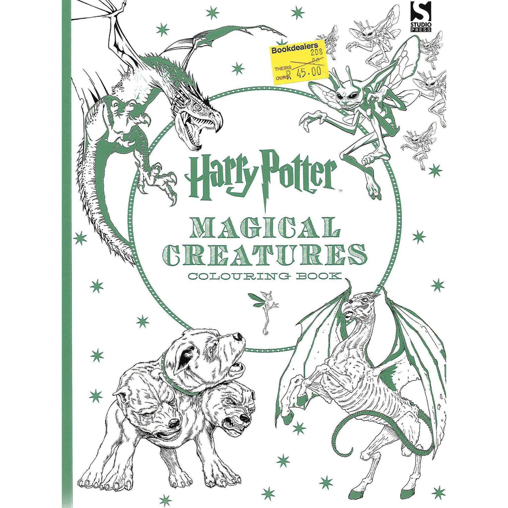 BookdealersHarry Potter Magical Creatures Colouring Book