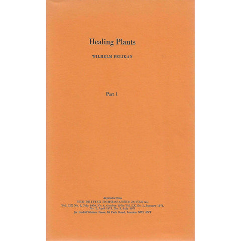Healing Plants (In 3 Volumes) | Wilhelm Pelikan