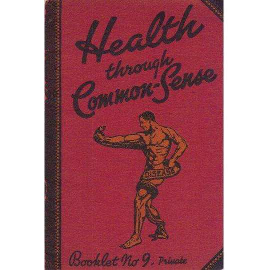 Bookdealers:Health Through Common-Sense (Booklet No. 9 Private)