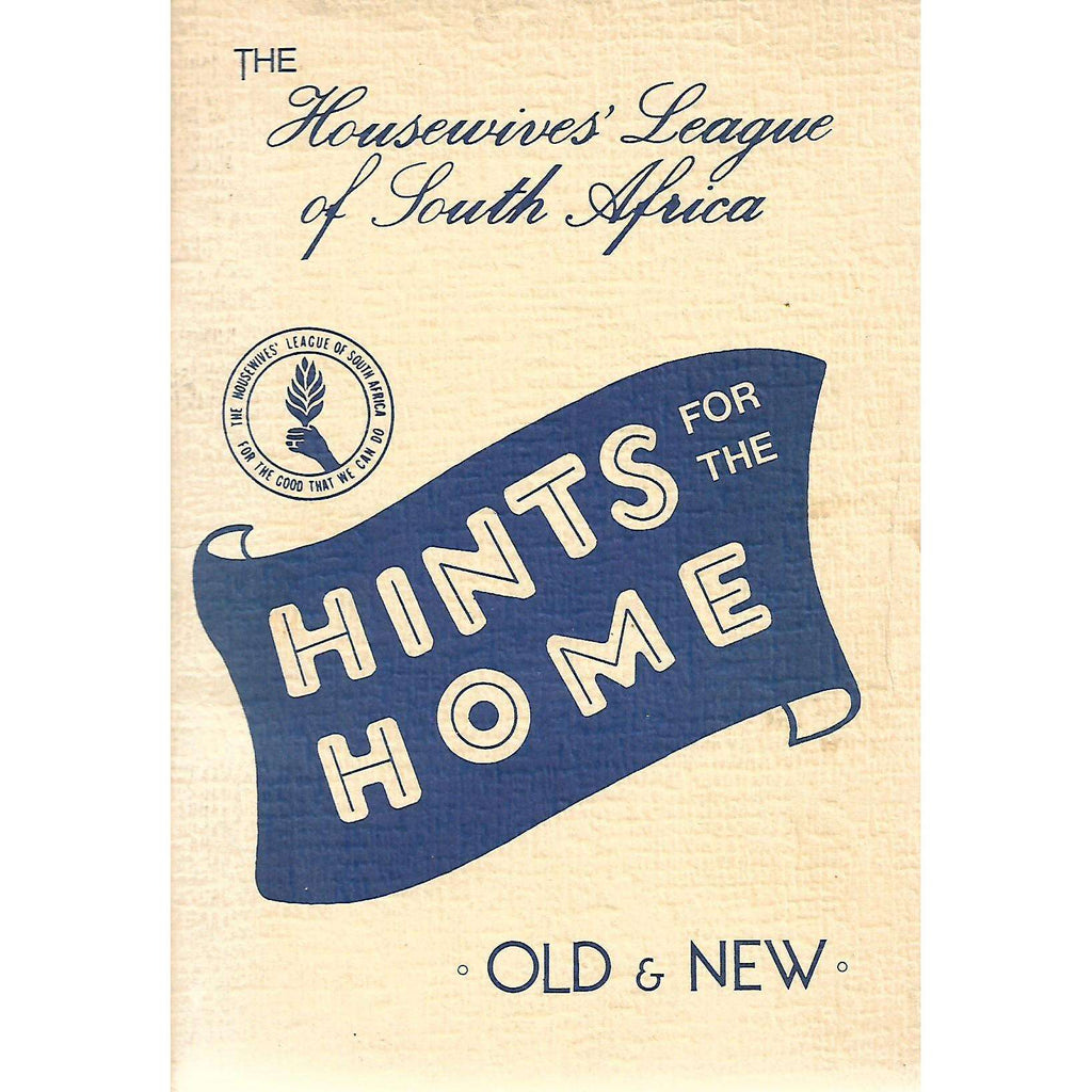 Bookdealers:Hints for the Home: Old & New