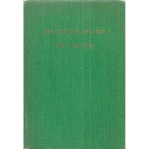 Hunger Signs in Crops: A Symposium