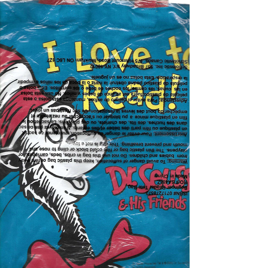 Bookdealers:I Love to read bag! | Dr. Seuss