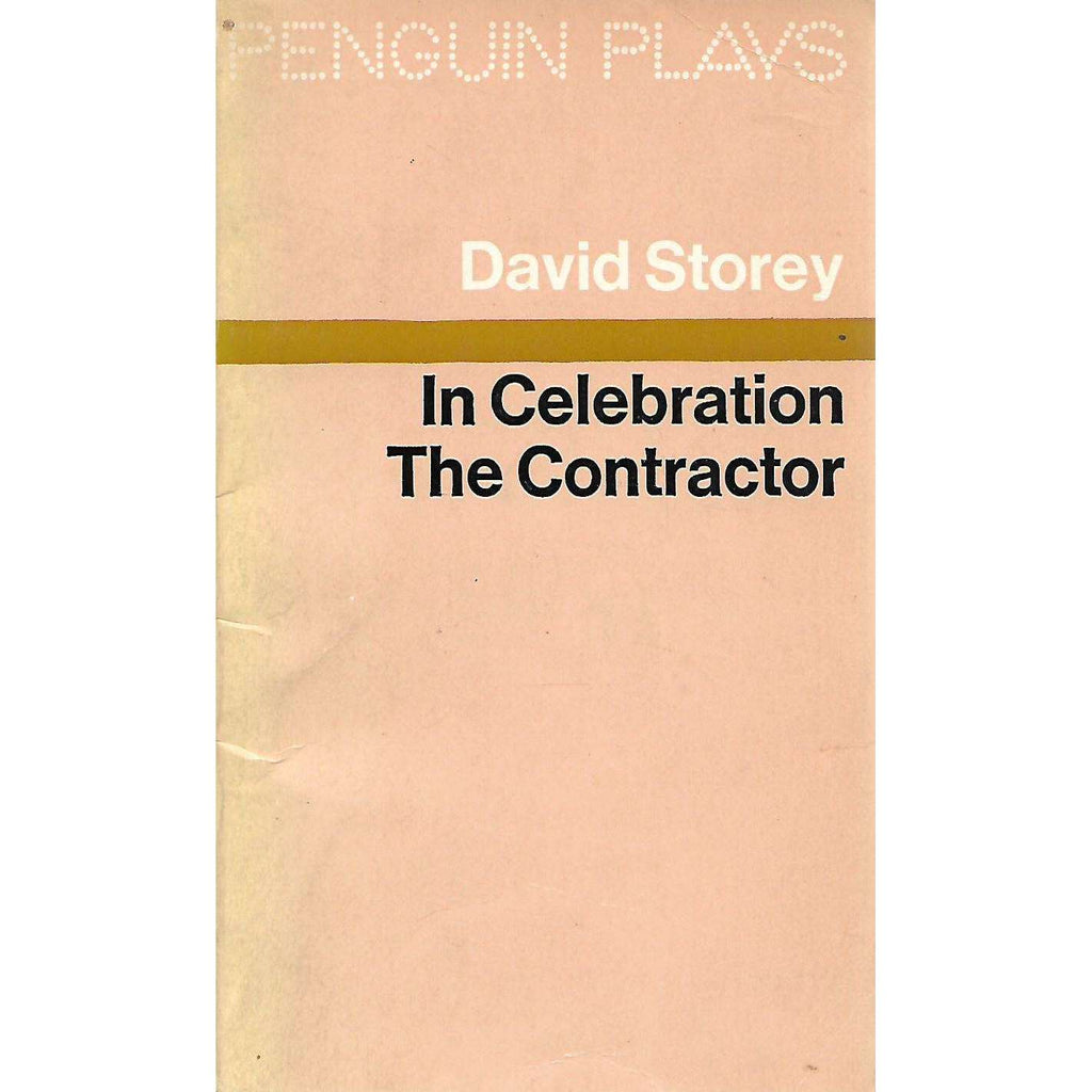 Bookdealers:In Celebration & The Contractor | David Storey