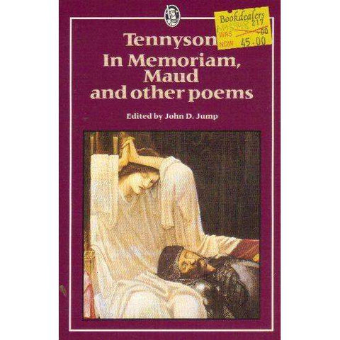 In Memoriam, Maud & Other Poems (Everyman's University Paperbacks) | Alfred Tennyson Lord