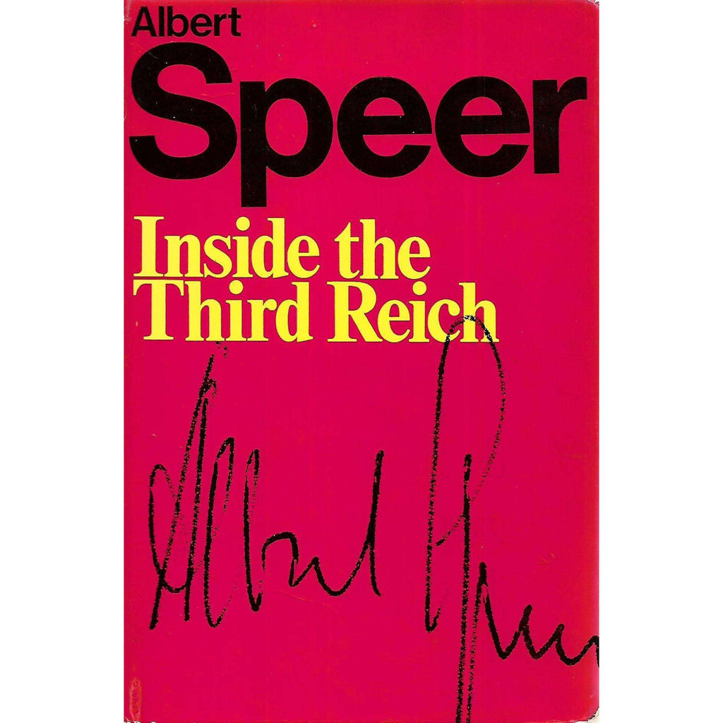 Bookdealers:Inside the Third Reich | Albert Speer