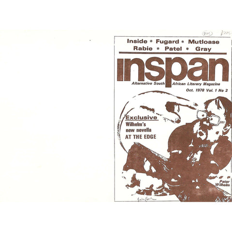 Inspan: Alternative South African Literary Magazine (Oct. 1978, Vol. 1, No. 2)