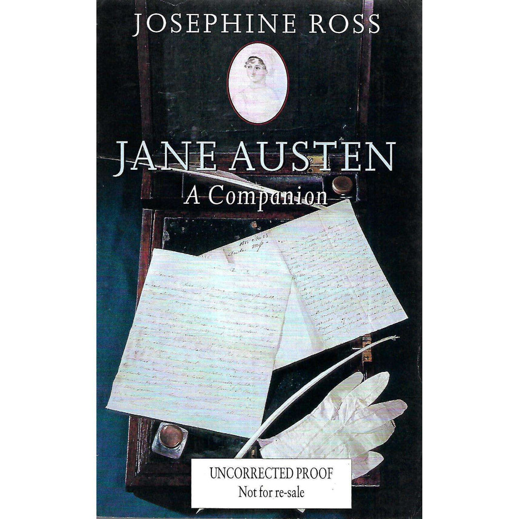 Bookdealers:Jane Austen: A Companion (Uncorrected Proof Copy) | Josephine Ross