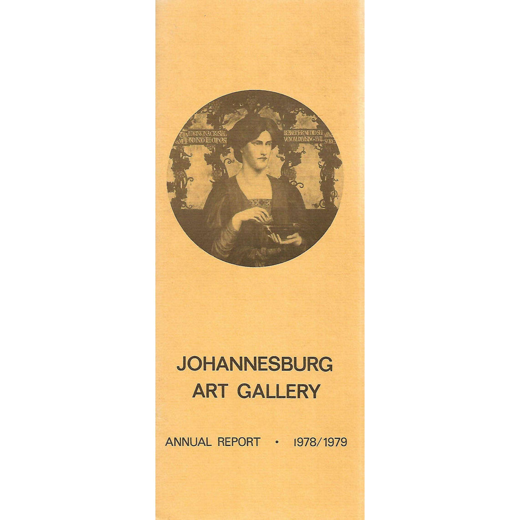 Bookdealers:Johannesburg Art Gallery Annual Report (1978/1979)