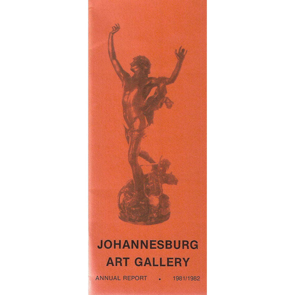 Bookdealers:Johannesburg Art Gallery Annual Report (1981/1982)