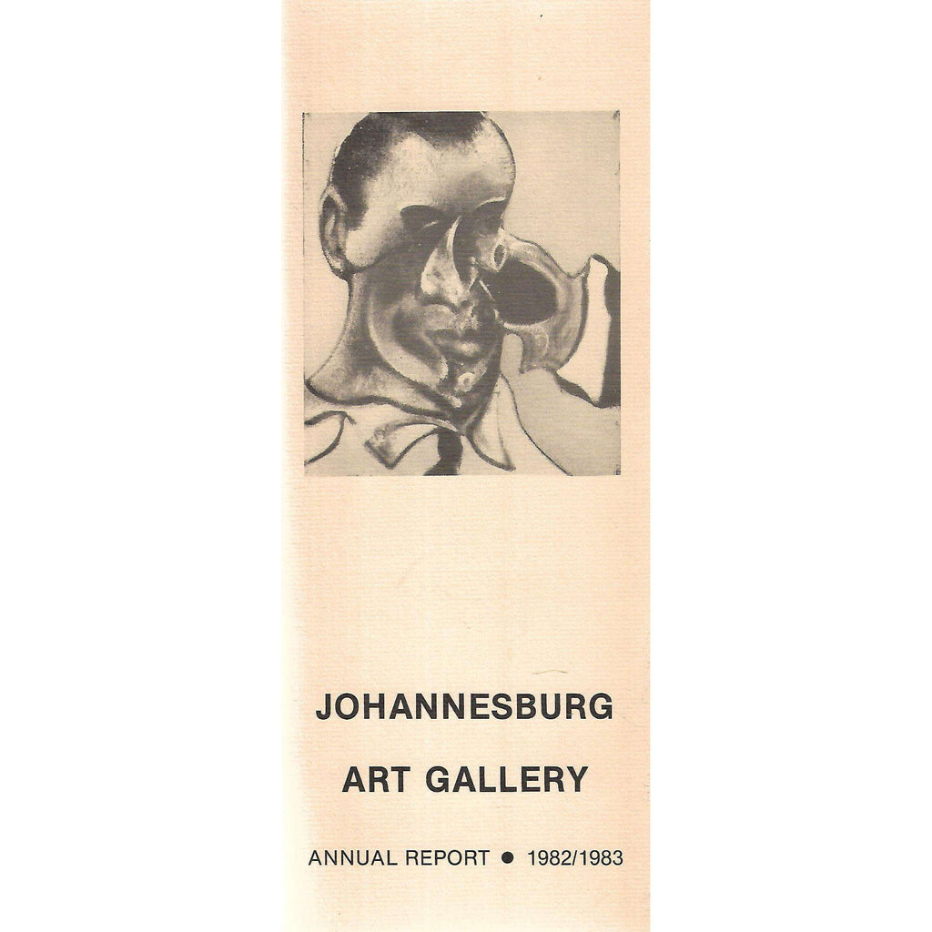 Bookdealers:Johannesburg Art Gallery Annual Report (1982/1983)