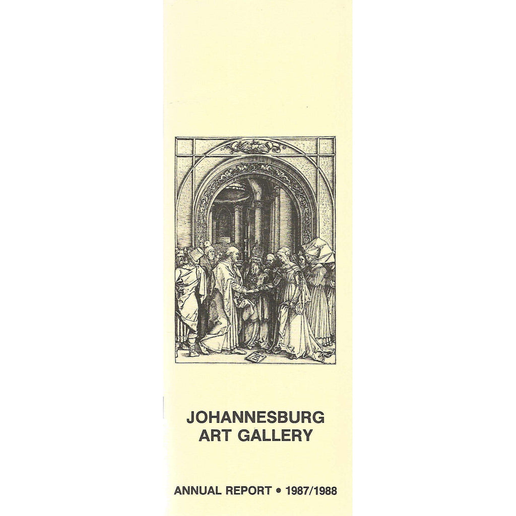 Bookdealers:Johannesburg Art Gallery Annual Report (1987/1988)