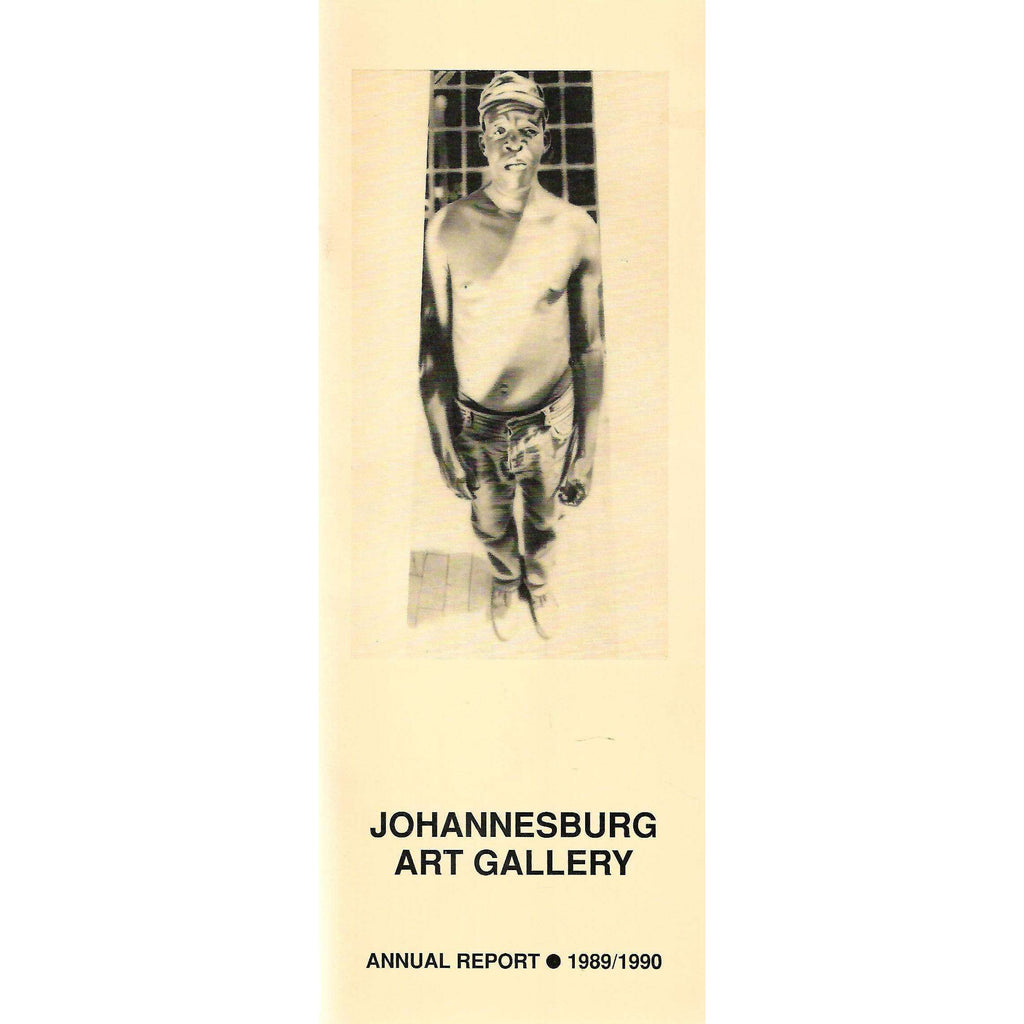 Bookdealers:Johannesburg Art Gallery Annual Report (1989/1990)