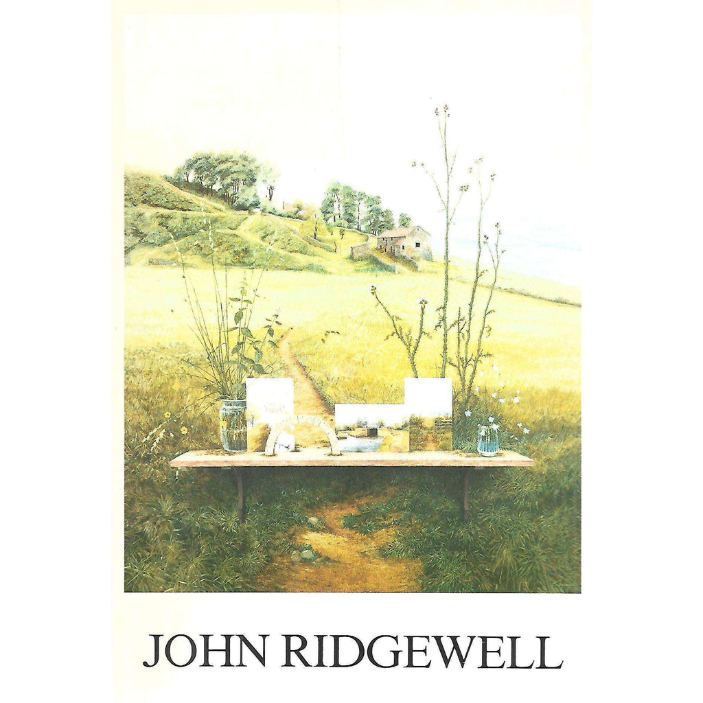 Bookdealers:John Ridgewell (Invitation to Exhibition of his Work)