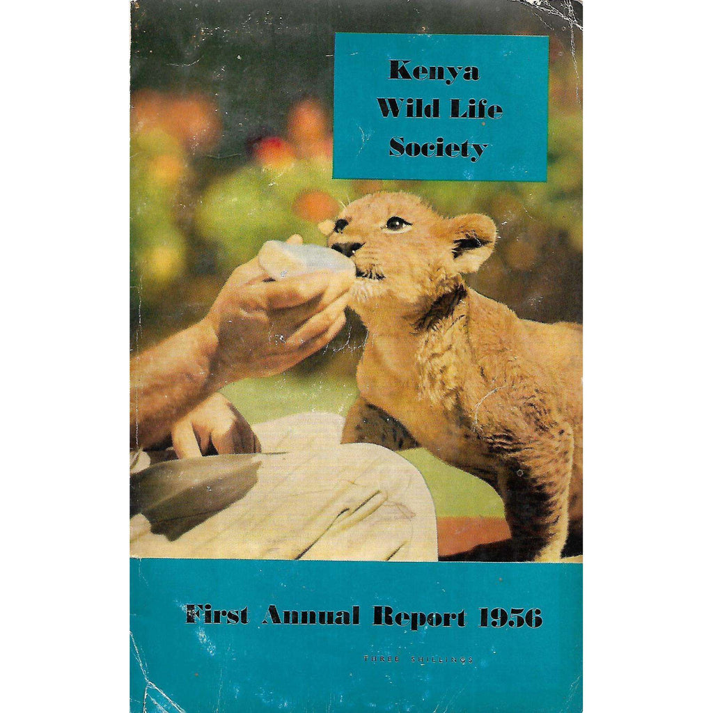 Bookdealers:Kenya Wild Life Society: First Annual Report 1956