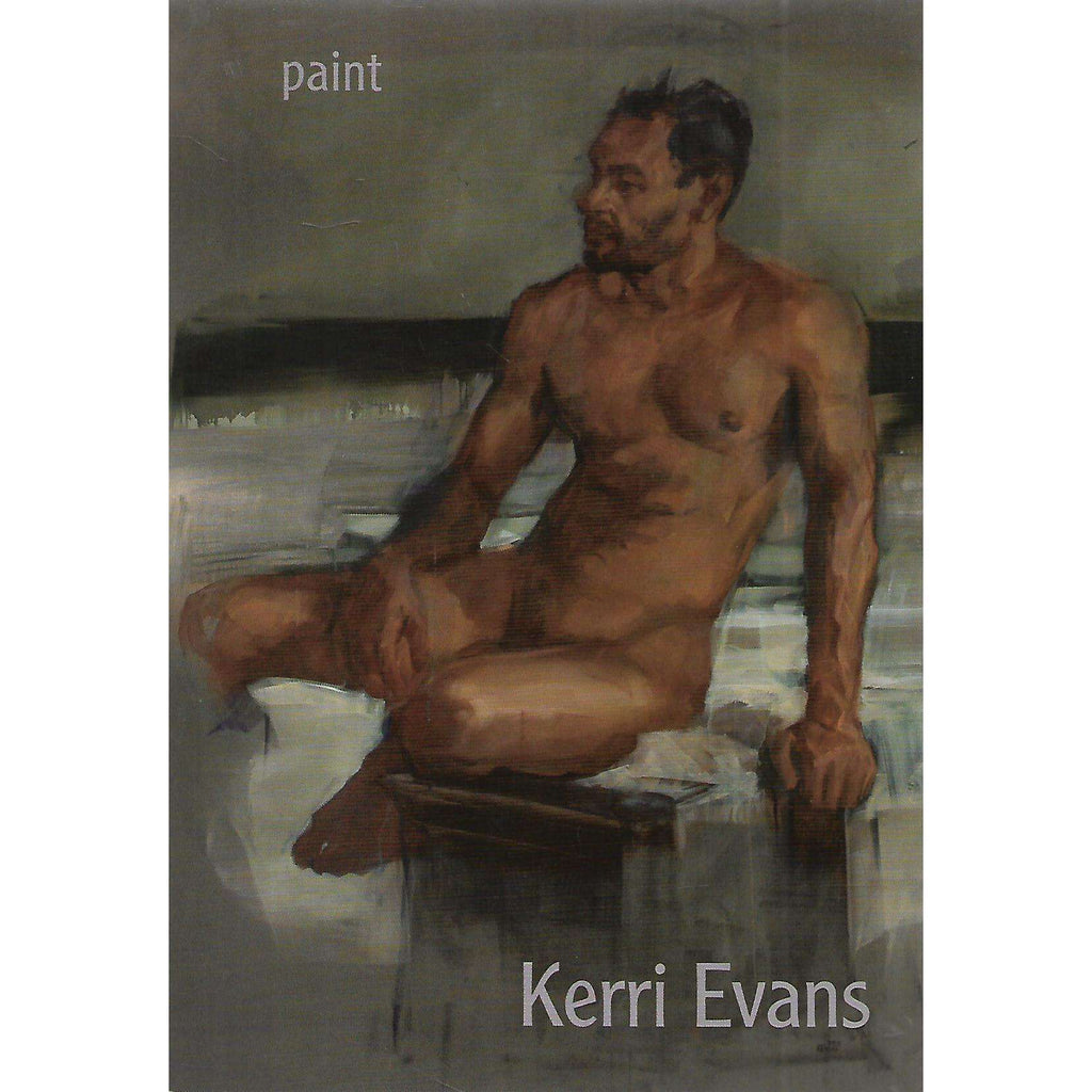 Bookdealers:Kerri Evans: Paint (Invitation to the Exhibition)