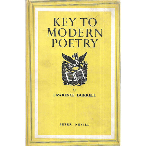 Key to Modern Poetry (First Edition) | Lawrence Durrell