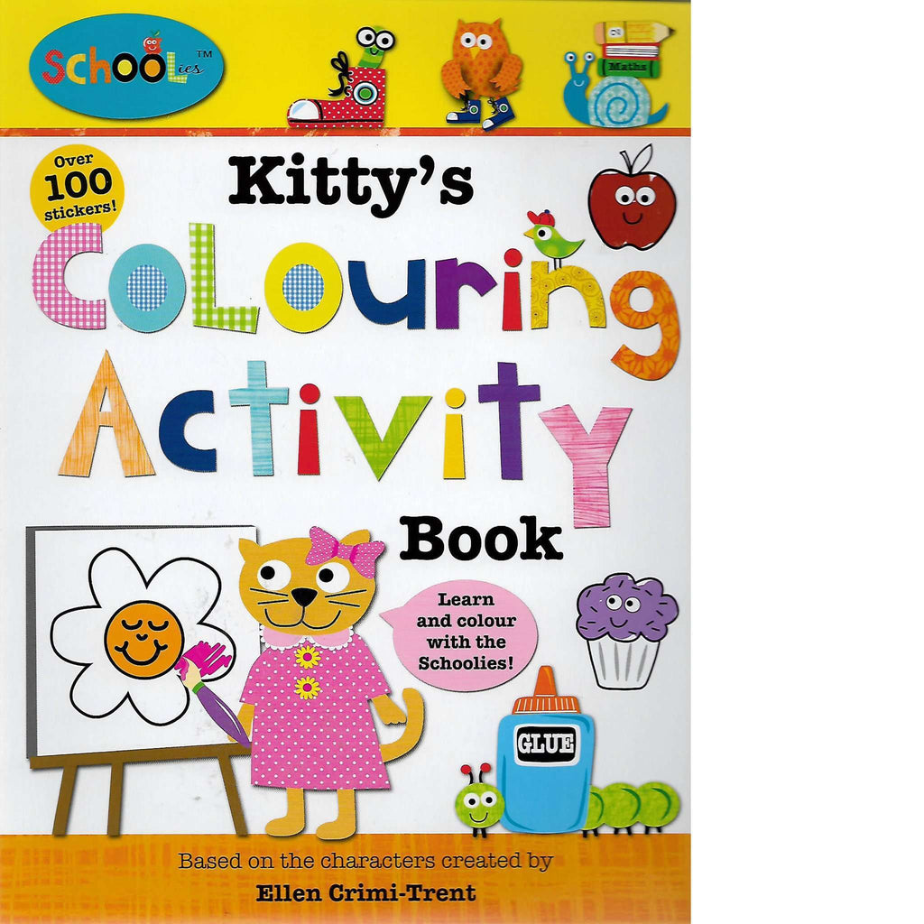 Bookdealers:Kitty's Colouring Activity Book | Ellen Crimi-Trent