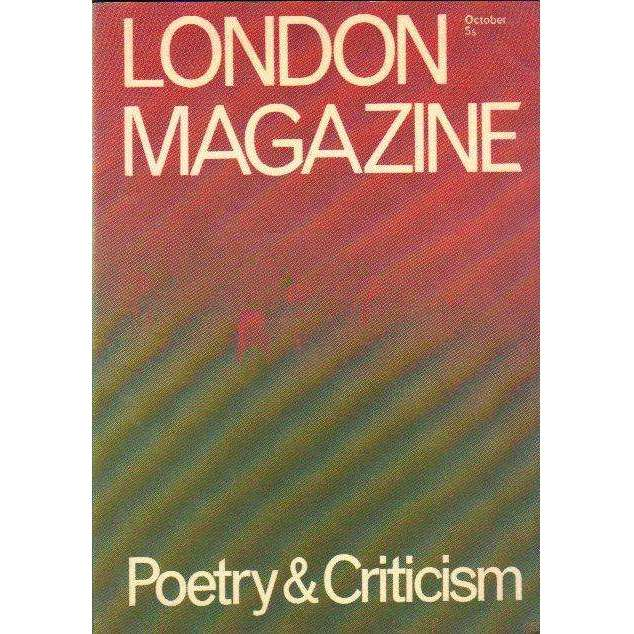 Bookdealers:London Magazine: Poetry and Criticism | Edited by Alan Ross