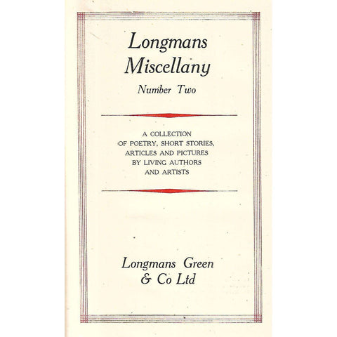 Longman's Miscellany (Number Two)