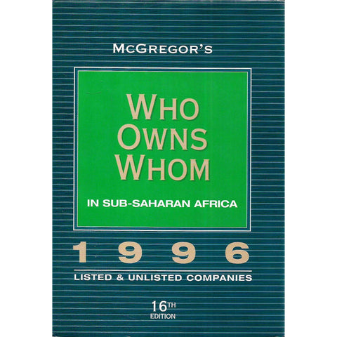 MaGreggor's Who Owns Whom in Sub-Saharan Africa 1996 | Robin and Anne McGreggor