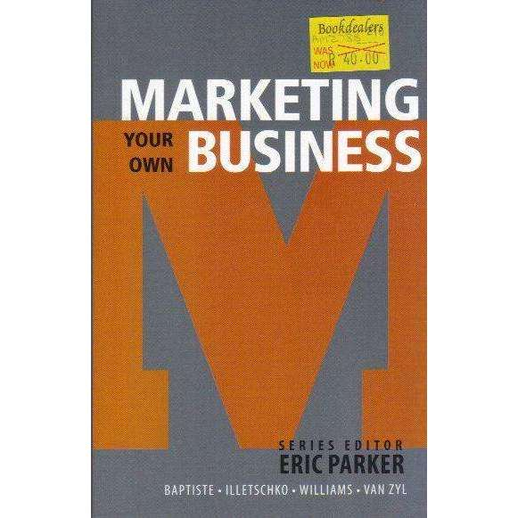 Bookdealers:Marketing Your Own Business | Series Editor Eric Parker