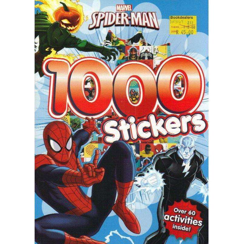 Bookdealers:Marvel Spider-Man 1000 Stickers: Over 60 activities inside!