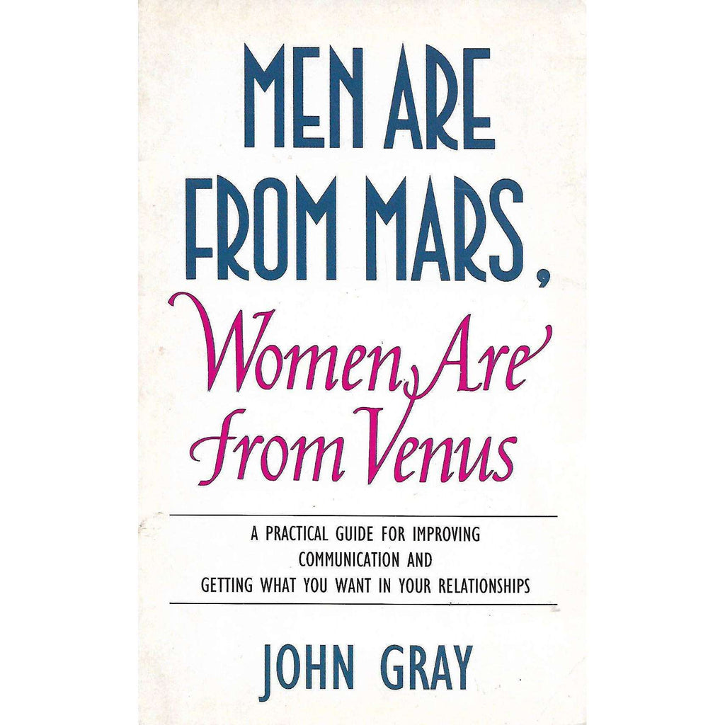 Bookdealers:Men Are From Mars, Women Are From Venus | John Gray
