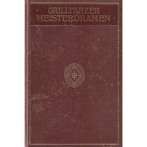 Mesiterdramen (German) | Franz Grillparzer