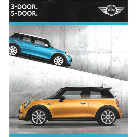 Mini 3-Door & Mini 5-Door (Brochure)