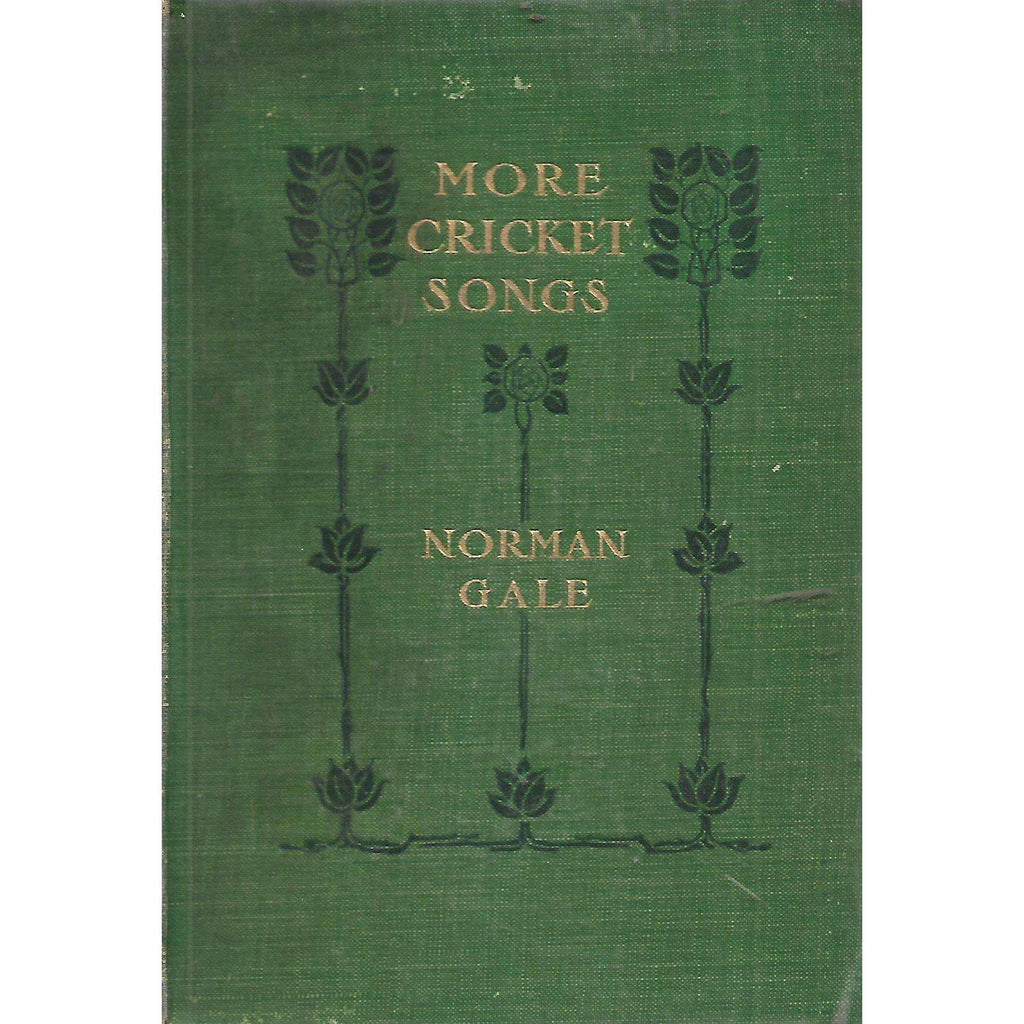 Bookdealers:More Cricket Songs | Norman Gale
