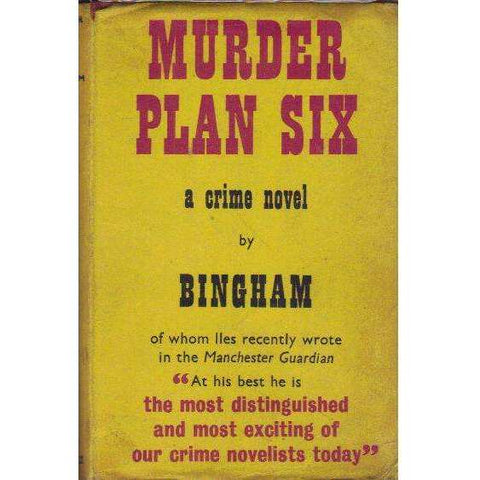 Murder Plan Six (First Edition 1958) | John Bingham