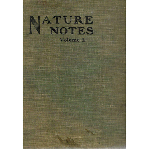 Nature Notes Vol. 1 (Issues 1-12)