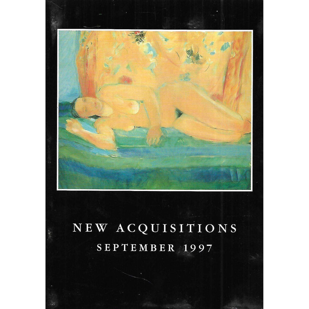 Bookdealers:New Acquisitions, September 1997 (Invitation to the Exhibition)