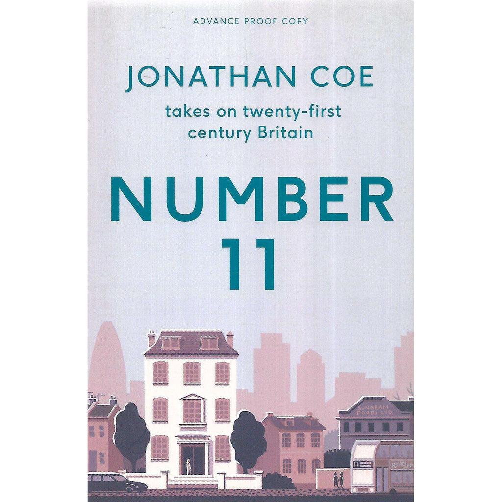 Bookdealers:Number 11 (Uncorrected Proof Copy) | Jonathan Coe