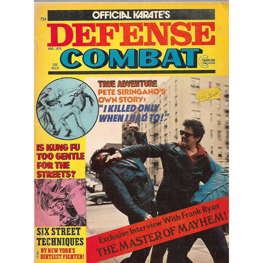 Bookdealers:Official Karate's Defense Combat (Vol. 1, No. 1, August 1975)