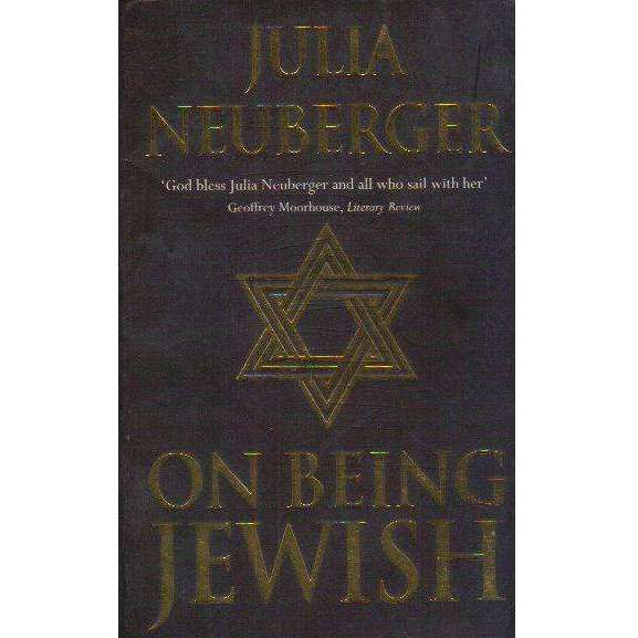 Bookdealers:On Being Jewish | Julia Neuberger