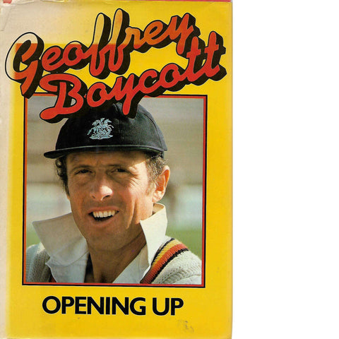 'Opening Up' (With Author's Inscription) | Geoff Boycott